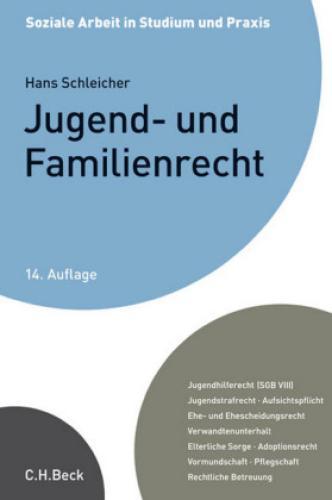 Jugend- und Familienrecht Ein Studienbuch. Jugendhilferecht (SGB VIII), Jug 2433
